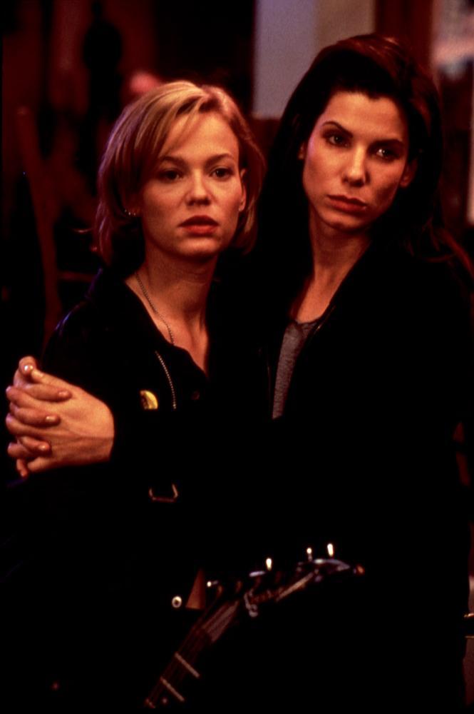 Photo of Sandra Bullock & her friend, actress  Samantha Mathis
