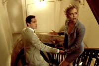 THE DEVIL'S ADVOCATE, Keanu Reeves, Charlize Theron, 1997, (c) Warner Brothers