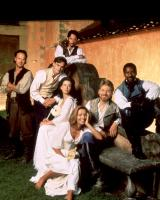 MUCH ADO ABOUT NOTHING, M. Keaton, R.S. Leonard, K. Reeves, K. Beckinsale, E. Thompson, K. Branagh, D. Washington, 1993