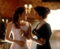 TITANIC, Kate Winslet, Frances Fisher, 1997, underwear.  TM and Copyright (c) 20th Century Fox Film Corp. All rights reserved..