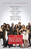 THE BEST MAN HOLIDAY, advance poster art, Regina Hall, Harold Perrineau, Sanaa Lathan, Taye Diggs, Nia Long, Terrence Howard, Melissa De Sousa, Monica Calhoun, Morris Chestnut, 2013. ©Universal Pictures