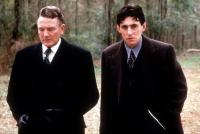 MILLER'S CROSSING, Albert Finney, Gabriel Byrne, 1990. TM and Copyright (c) 20th Century Fox Film Corp. All Rights Reserved.