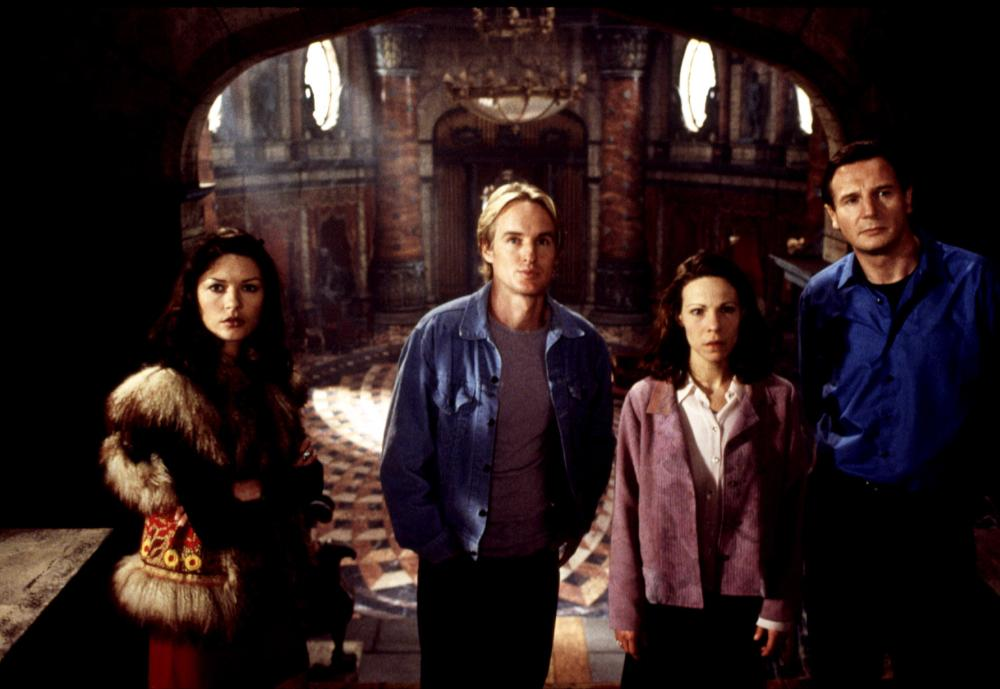 THE HAUNTING, Catherine Zeta-Jones, Owen Wilson, Lili Taylor, Liam Neeson, 1999, ©Dreamworks /