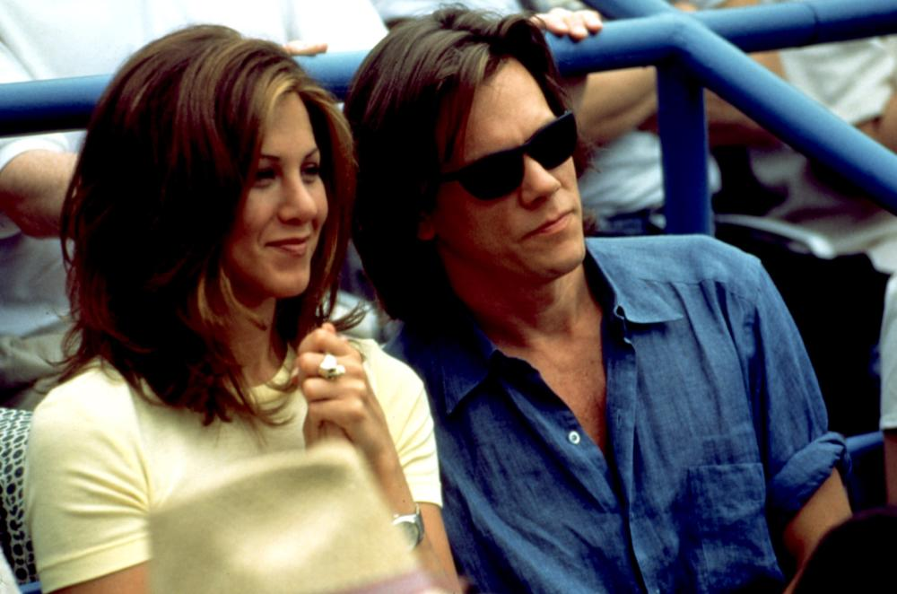 PICTURE PERFECT, Jennifer Aniston, Kevin Bacon, 1997, watching at the ...