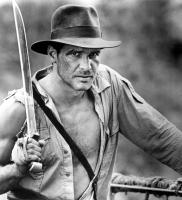 INDIANA JONES AND THE TEMPLE OF DOOM, Harrison Ford, 1984, sword