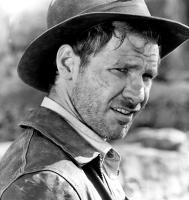 INDIANA JONES AND THE TEMPLE OF DOOM, Harrison Ford, 1984, unshaven