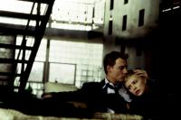 THE ASTRONAUT'S WIFE, Johnny Depp, Charlize Theron, 1999, kiss