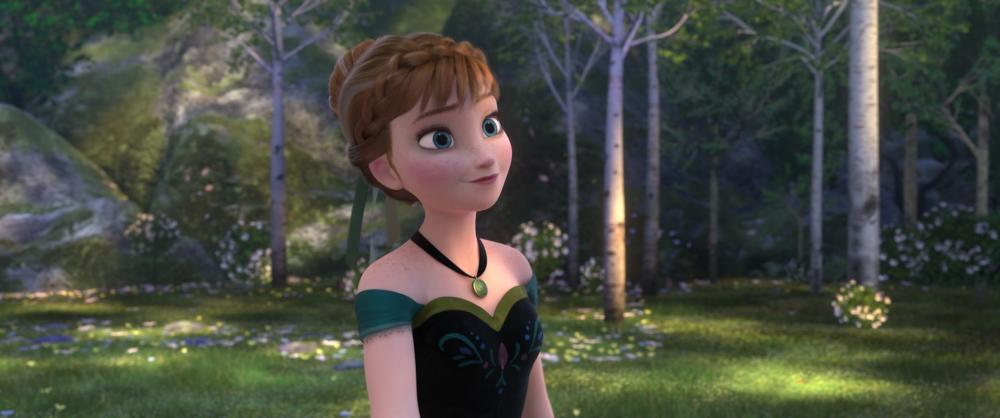 FROZEN, Anna (voice: Kristen Bell), 2013. ©Walt Disney Pictures