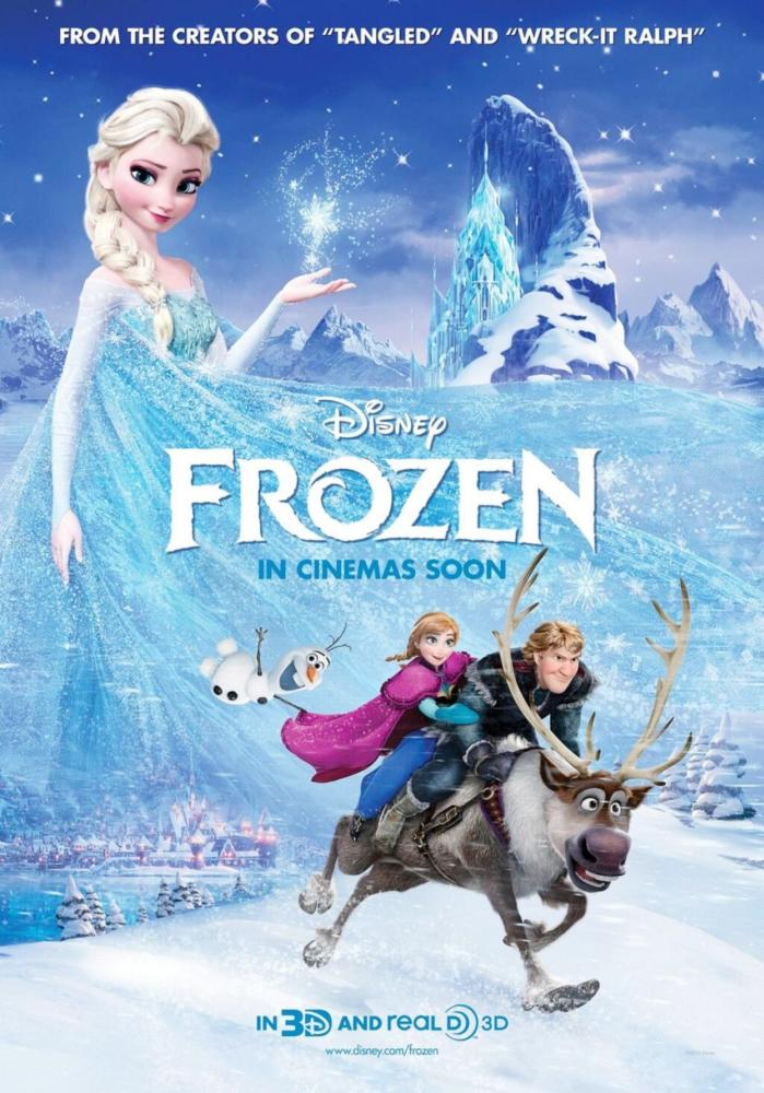 FROZEN, advance poster, 2013. ©Walt Disney Pictures