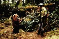 RETURN OF THE JEDI, Warwick Davis, Carrie Fisher, TM & Copyright (c) 20th Century Fox Film Corp., 1983, All rights reserved.