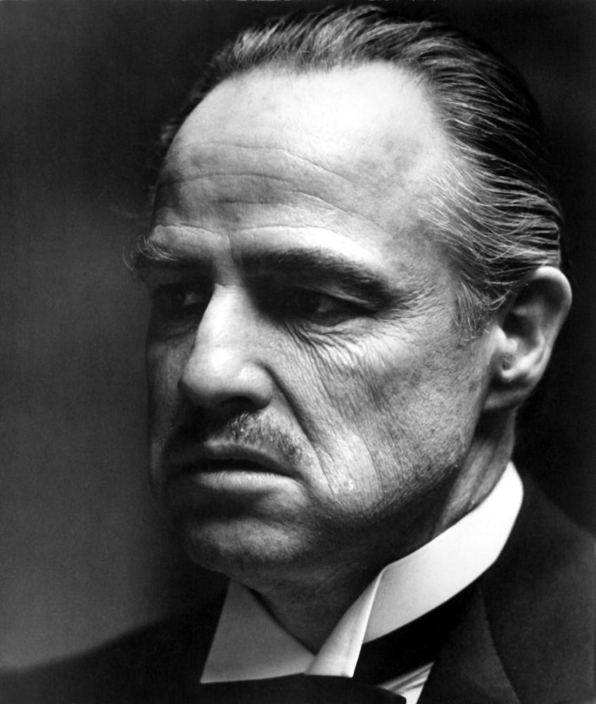 THE GODFATHER  Marlon Brando  Marlon Brando Godfather