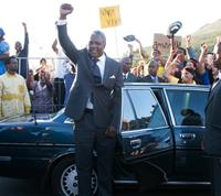 MANDELA: LONG WALK TO FREEDOM, Idris Elba (as Nelson Mandela), 2013, ph: Keith Bernstein/©Weinstein Company