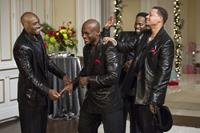 THE BEST MAN HOLIDAY, from left: Morris Chestnut, Taye Diggs, Harold Perrineau, Terrence Howard, 2013. ph: Michael Gibson/©Universal Pictures