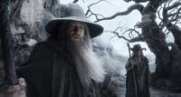 THE HOBBIT: THE DESOLATION OF SMAUG, from left: Ian McKellen, Sylvester McCoy, 2013. ©Warner Bros. Pictures