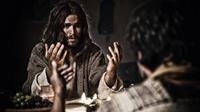 SON OF GOD, Diogo Morgado as Jesus Christ at the Last Supper, 2014. ph: Casey Crafford/TM & copyright ©20th Century Fox Film Corp. All rights reserved