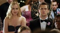 DATE AND SWITCH, from left, Dakota Johnson, Hunter Cope, 2014. ©Lionsgate