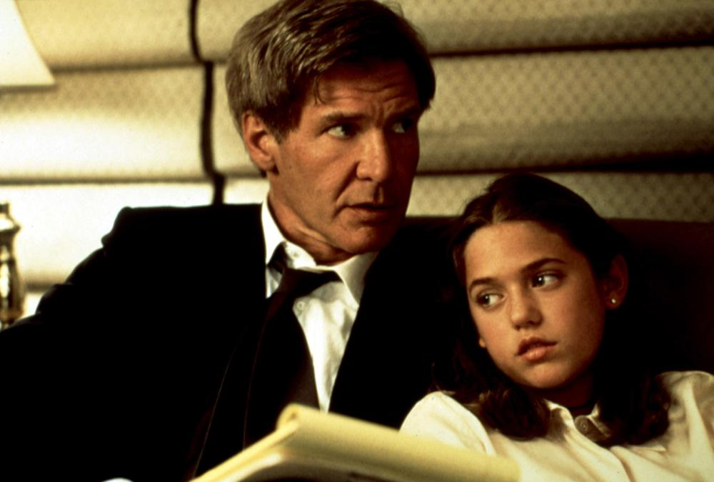 AIR FORCE ONE, Harrison Ford, Liesel Matthews, 1997