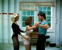 DIRTY DANCING, Cynthia Rhodes, Jennifer Grey, Patrick Swayze, 1987. (c) Artisan Entertainment.