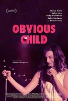 OBVIOUS CHILD, international poster art, Jenny Slate, 2014. ©A24