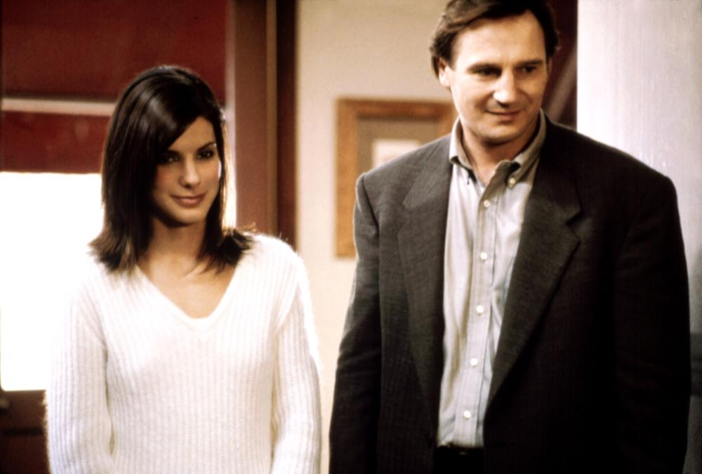 GUN SHY, Sandra Bullock, Liam Neeson, 2000