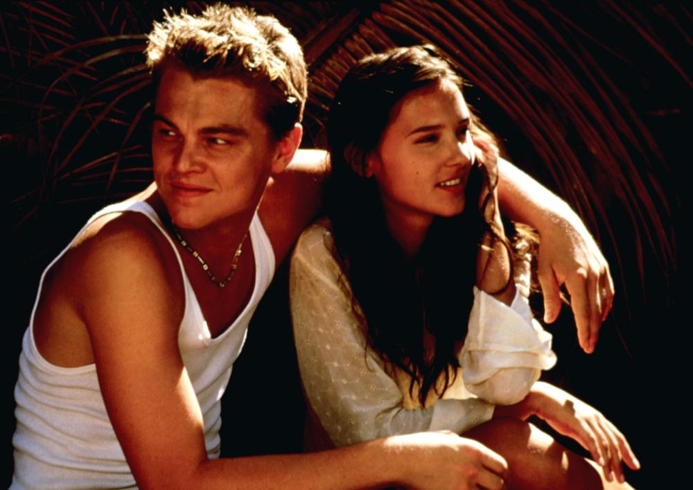 Virginie Ledoyen And Leonardo Dicaprio