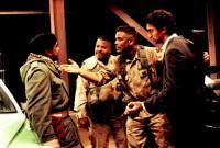 THREE KINGS, Fadil Al-Badra, Ice Cube, George Clooney, Cliff Curtis, 1999, negotiations