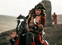 ROB ROY, Tim Roth, 1995, on horseback