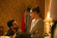 ABOUT ALEX, from left: Max Greenfield, Aubrey Plaza, 2014. ©Screen Media Films