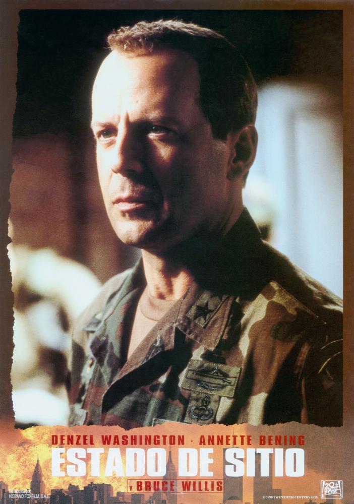 The Siege Bruce Willis The siege, bruce willis, 1998, Bruce Willis