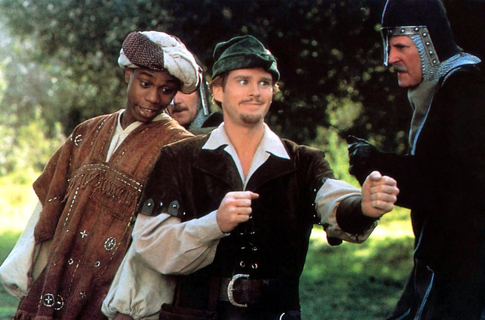 ROBIN HOOD: MEN IN TIGHTS, Dave Chappelle, Cary Elwes, Herman Poppe, 1993, TM & Copyright (c) 20th Century Fox Film Corp.