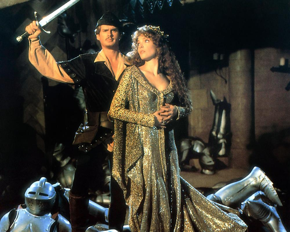 ROBIN HOOD: MEN IN TIGHTS, Cary Elwes, Amy Yasbeck, 1993, TM & Copyright (c) 20th Century Fox Film Corp.