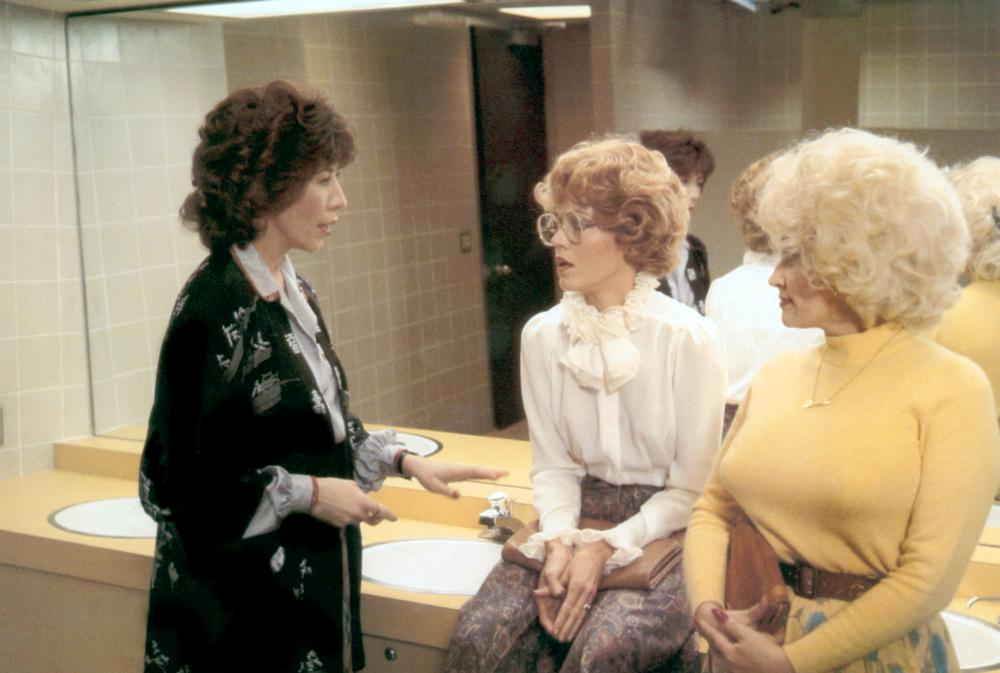 NINE TO FIVE, (aka 9 TO 5), Lily Tomlin, Jane Fonda, Dolly Parton, 1980, TM & Copyright (c) 20th Century Fox Film Corp.