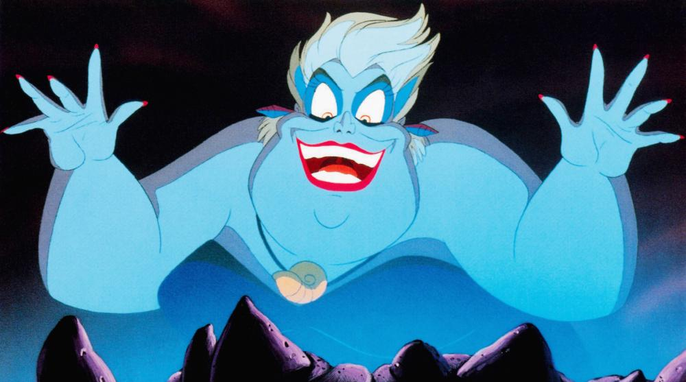 THE LITTLE MERMAID, Ursula, 1989, © Walt Disney