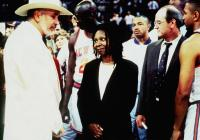 EDDIE, front from left: Frank Langella, Whoopi Goldberg, Richard Jenkins, 1996, © Buena Vista
