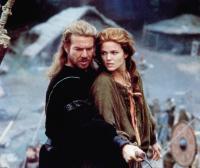 DRAGONHEART, from left: Dennis Quaid, Dina Meyer, 1996, © Universal