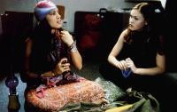 DOWN TO YOU, from left: Rosario Dawson, Julia Stiles, 2000, © Miramax