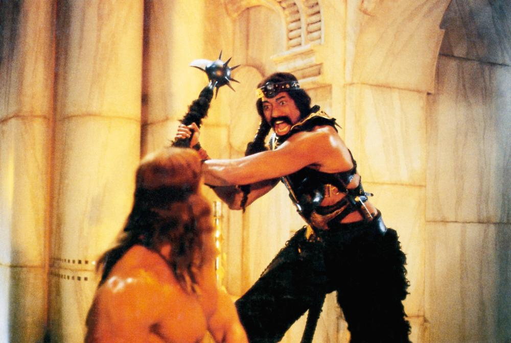 Conan The Destroyer Wilt Chamberlain CONAN THE DESTROYER  front to