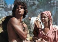 CLASH OF THE TITANS, from left: Harry Hamlin, Judi Bowker, 1981. ©MGM