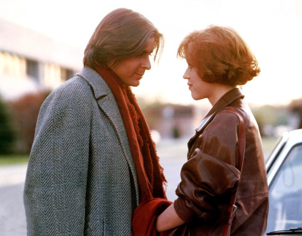 THE BREAKFAST CLUB, from left: Judd Nelson, Molly Ringwald, 1985. © Universal Pictures