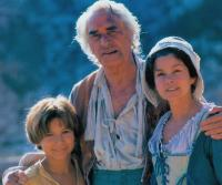 THE ADVENTURES OF PINOCCHIO, from left: Jonathan Taylor Thomas, Martin Landau, Genevieve Bujold, 1996. ©New Line